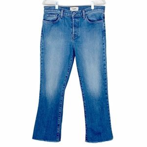 BALDWIN The Maxwell Cropped Kick Flare Jeans